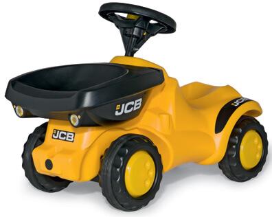 JCB lábbal hajtható játék dömper, Rolly Toys