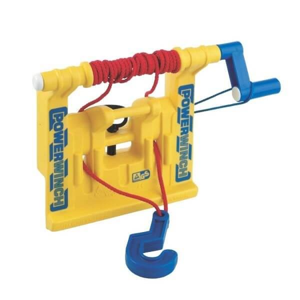 Sárga színű játék csörlő, Rolly Toys