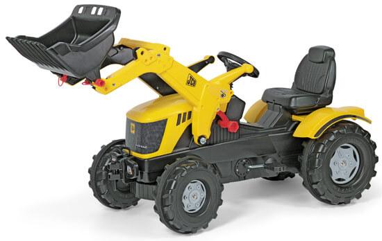 JCB 8250 V-Tronic pedálos traktor homlokrakodóval, Rolly Toys