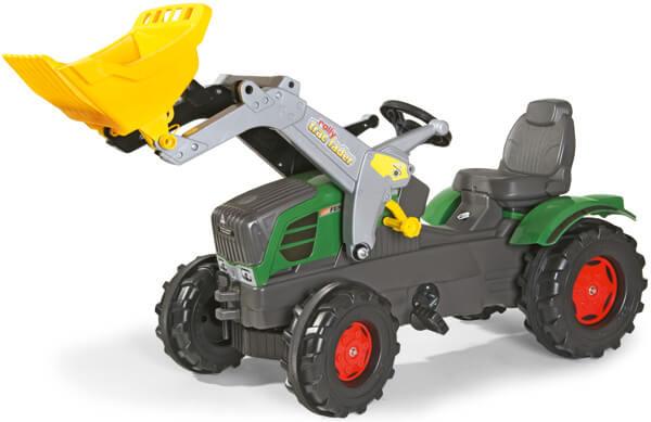 Fendt 211 Vario pedálos traktor homlokrakodóval, Rolly Toys
