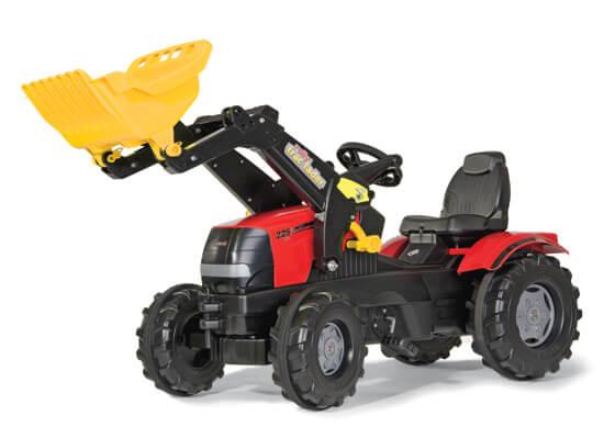 Case Puma pedálos traktor homlokrakodóval, Rolly Toys