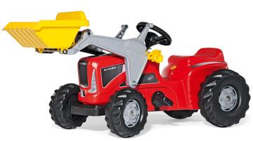 Rolly Kiddy Futura pedálos traktor homlokrakodóval, Rolly Toys