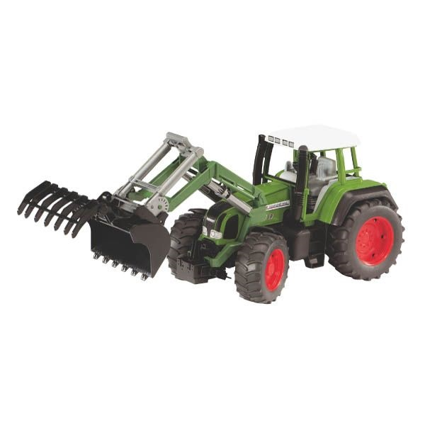 Fendt Favorit 926 játék traktor homlokrakodóval,  Bruder