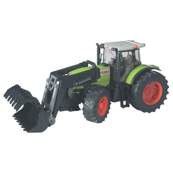 Claas Atles 936 játék traktor első markolóval,  Bruder