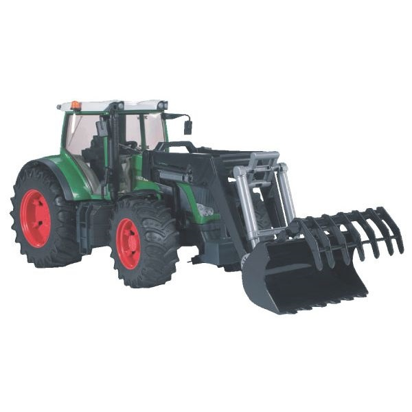 Fendt 936 Vario játék traktor homlokrakodóval,  Bruder