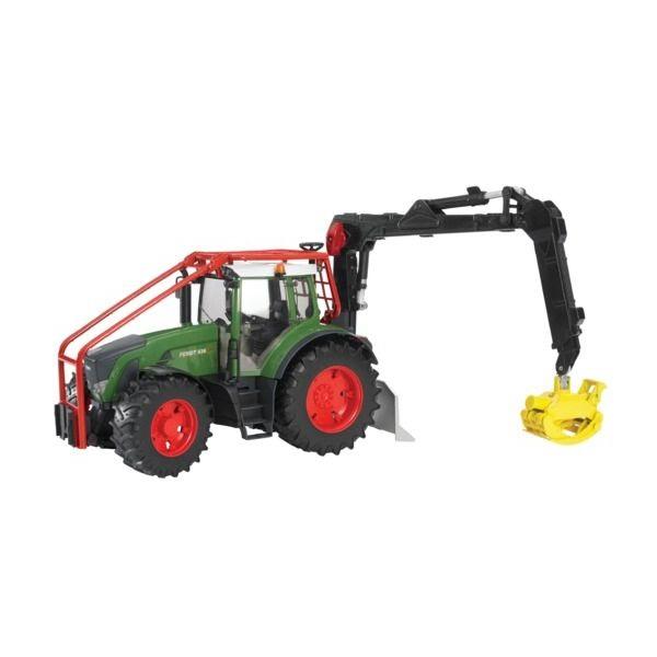 Fendt 936 Vario játék erdészeti traktor,  Bruder