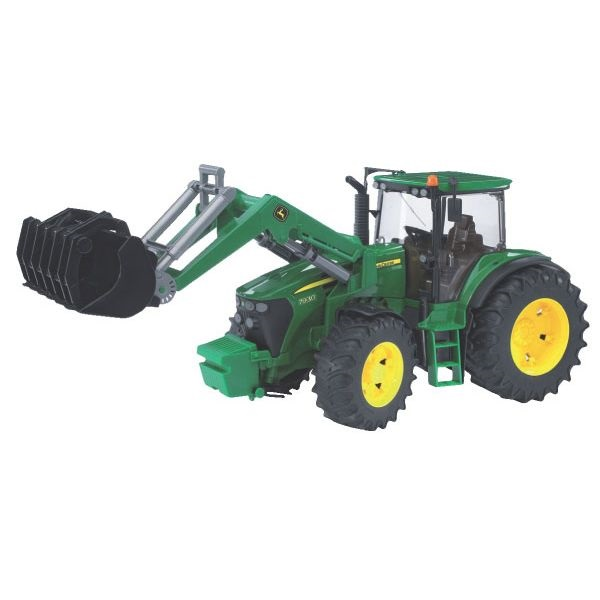 John Deere 7930 játék traktor homlokrakodóval,  Bruder