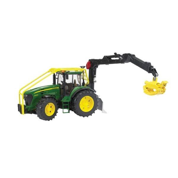 John Deere 7930 játék erdészeti traktor, Bruder