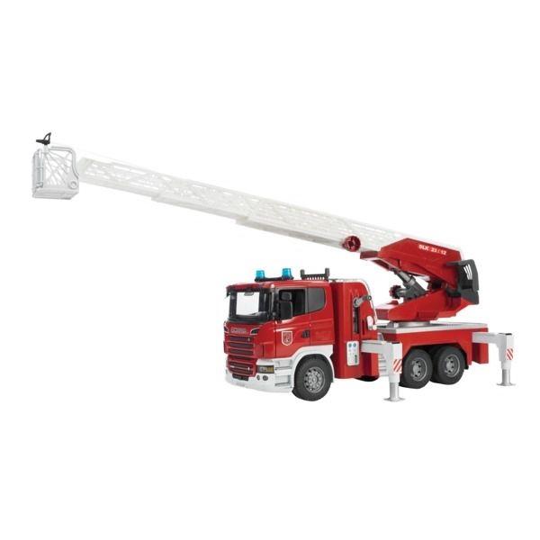Scania játék tűzoltóautó,  Bruder