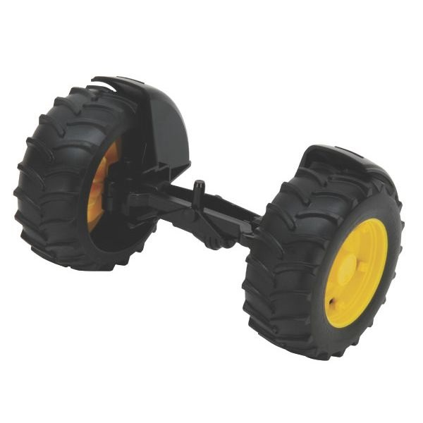 John Deere 2000-es traktorhoz játék első tengely,  Bruder