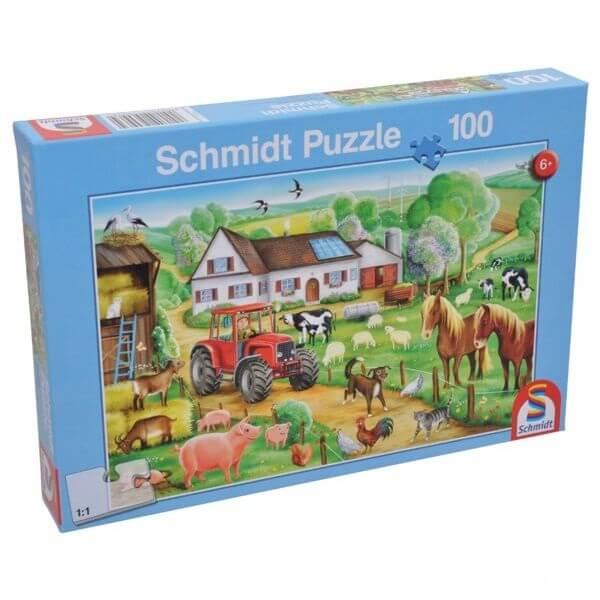 """JátékPuzzle """"Vidám tanya"""", Schmidt"""