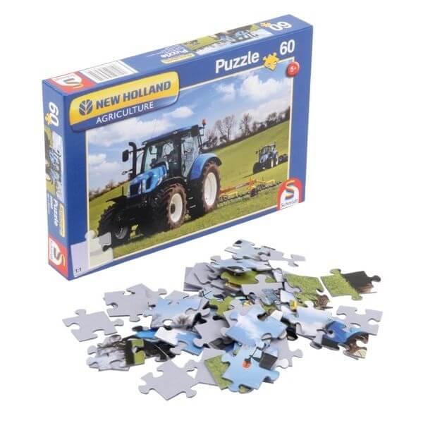 New Holland T6AC játék Puzzle, Schmidt