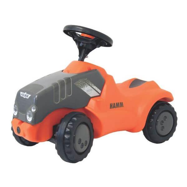 Minitrac Hamm lábbal hajtható játék traktor, Rolly Toys