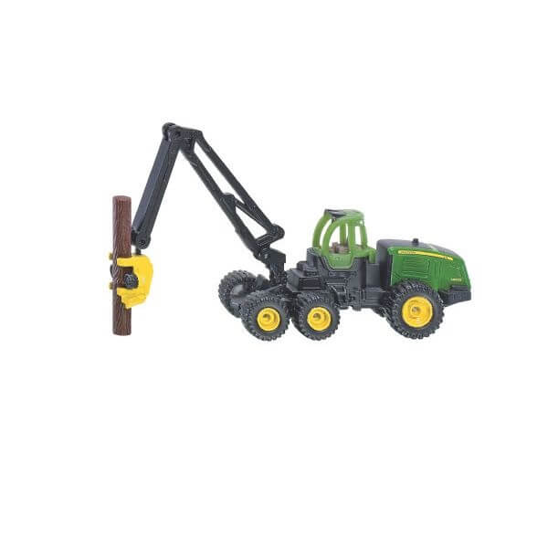 John Deere játék erdészeti gép, Siku