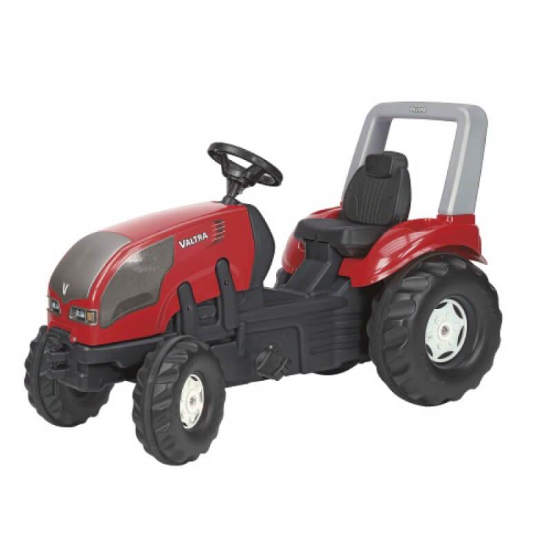 Valtra pedálos játék traktorfelnyitható motorháztetővel, Rolly Toys