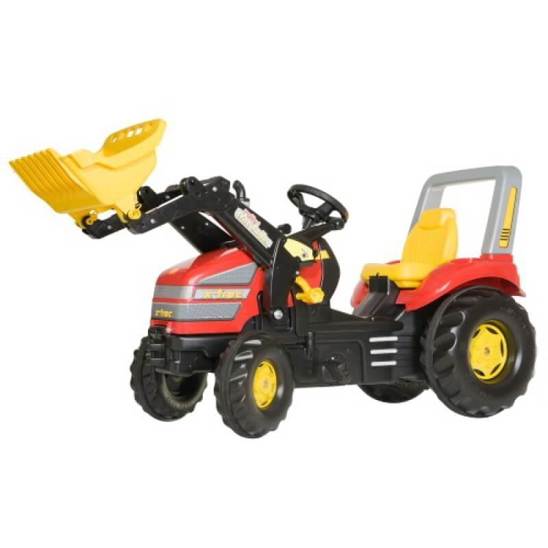 X Trac pedálos traktor homlokrakodóval, Rolly Toys