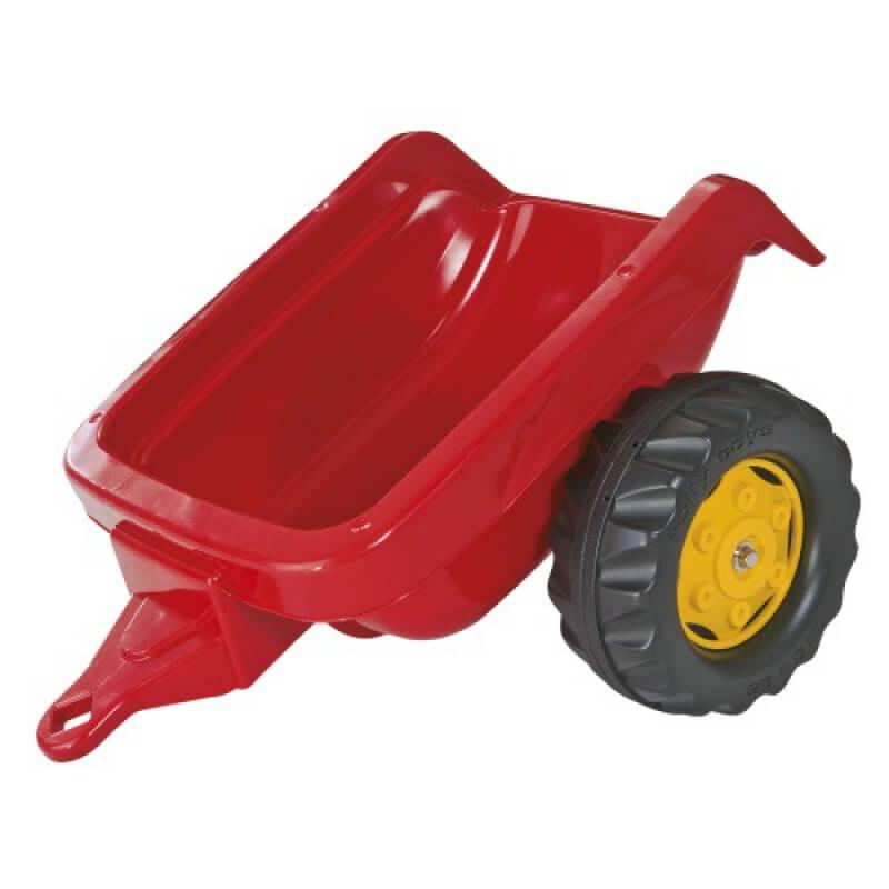 Rolly Kid játék utánfutó piros színben, Rolly Toys