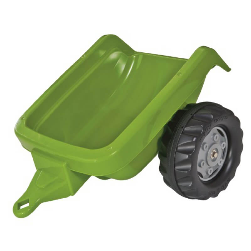 Rolly Kid játék utánfutó zöld, Rolly Toys