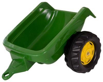 John Deere RollyKid játék zöld színű utánfutó, RollyToys