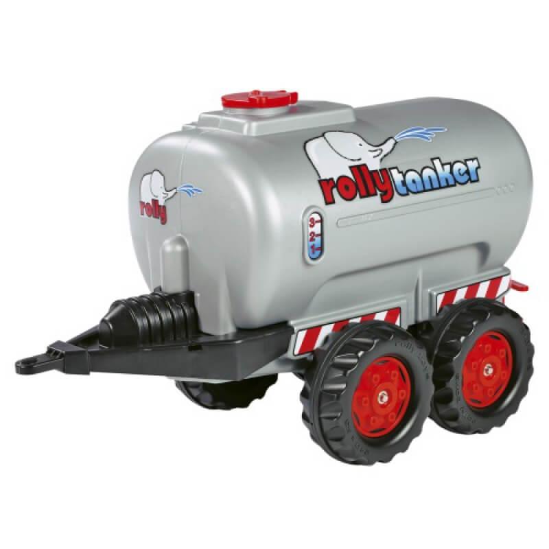 Játék utánfutós tartálykocsi 2 tengelyes, Rolly Toys