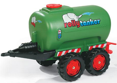 Zöld színű játék trágyatartály, Rolly Toys