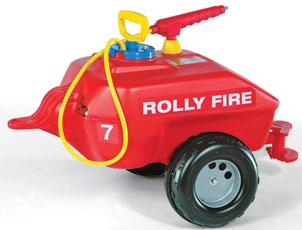 Játék utánfutós víztartály szivattyús öntözővel, Rolly Toys