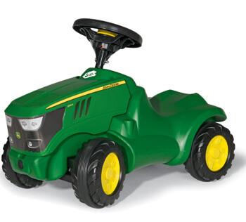John Deere lábbal hajtós gyermektraktor, RollyToys