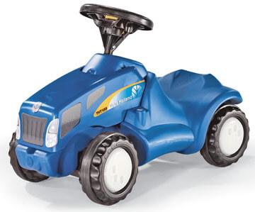New Holland TS 110 lábbal hajtható traktor, Rolly Toys