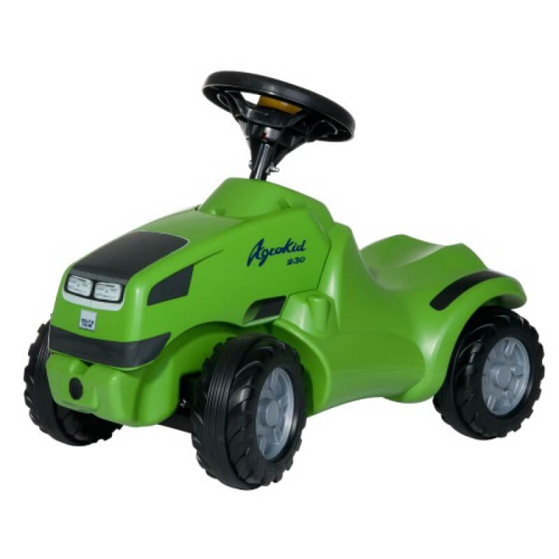 Deutz Agrokid lábbal hajtható játék traktor, Rolly Toys