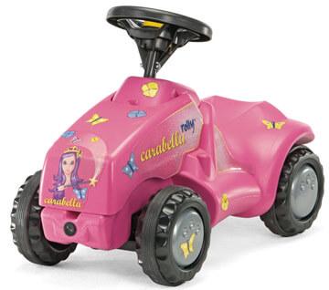 Minitrac Carabella lábbal hajtható traktor, Rolly Toys