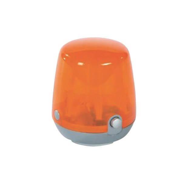 Játék villogó narancssárga színben, Rolly Toys