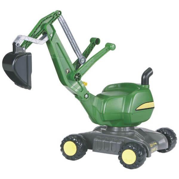 John Deere Rolly Digger játék kotrógép kerekekkel, Rolly Toys