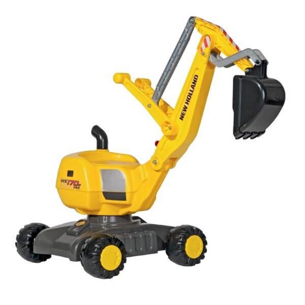 New Holland játék kotrógép, Rolly Toys