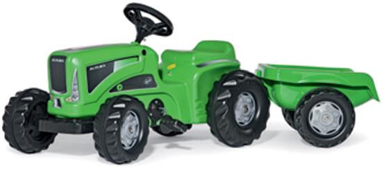Rolly Kiddy Futura pedálos játék traktor utánfutóval, Rolly Toys