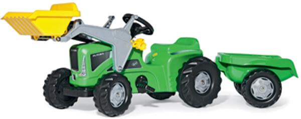 Rolly Kiddy Futura pedálos traktor utánfutóval, Rolly Toys