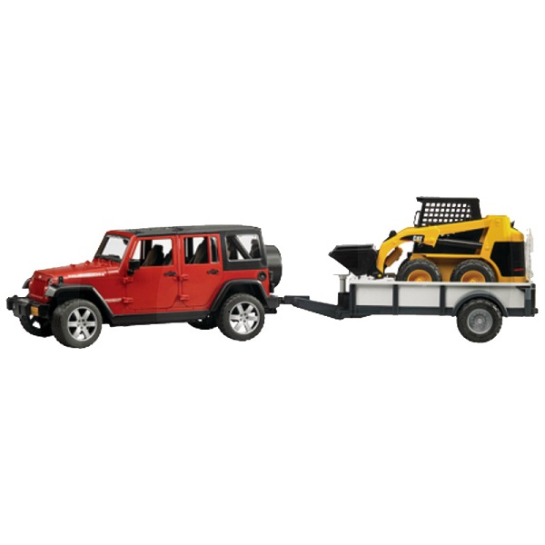 Jeep Wrangler Unlimited Rubicon + Cat kompakt rakodó