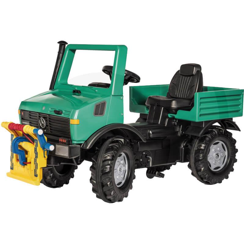 Rolly Toys Unimog pedálos erdészeti autó