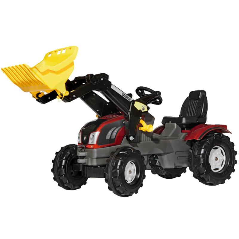 Rolly Toys Valtra T213 homlokrakodoval