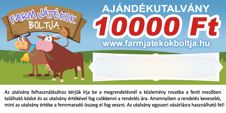 Ajándékutalvány 10000
