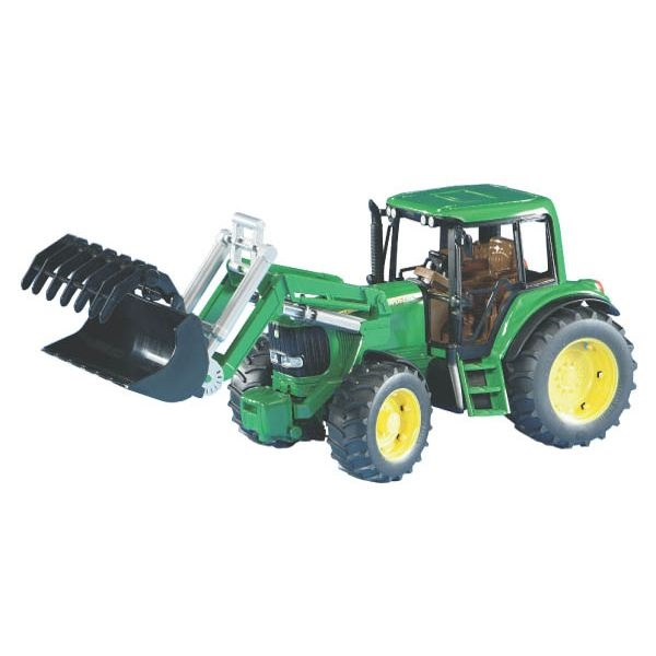 John Deere 6920 játék traktor homlokrakodóval, Bruder