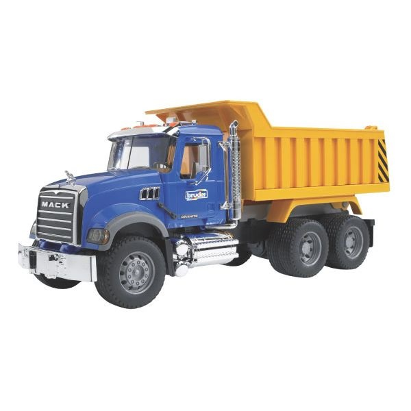 Mack Granite játék teherautó billenőteknővel,  Bruder