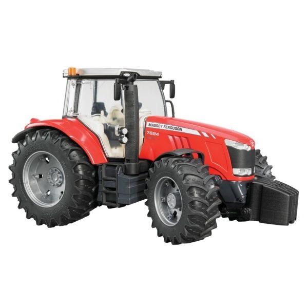 Massey Ferguson 7600 játék traktor,  Bruder