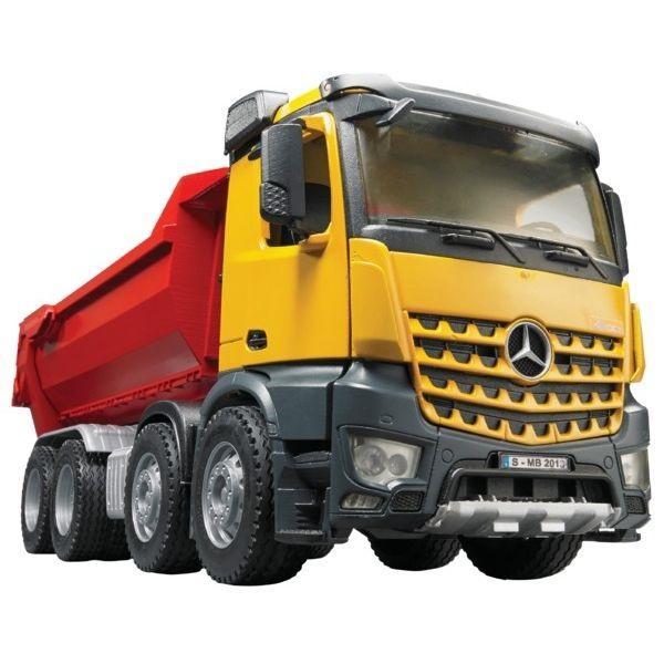 Mercedes játék teherautó,  Bruder