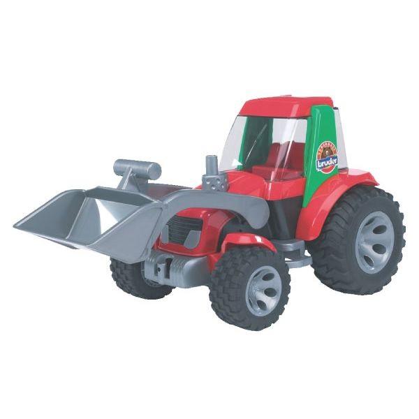 Roadmax játék traktor homlokrakodóval