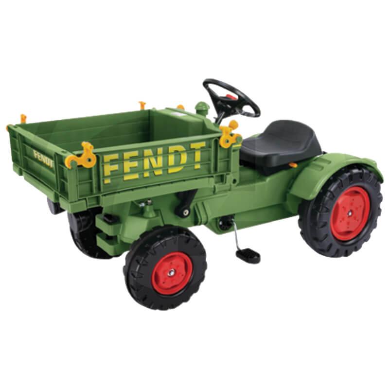 BIG Fendt eszközszállító pedálos traktor