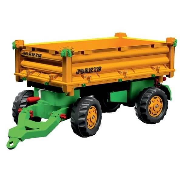 Multitrailer Joskin játék utánfutó, Rolly Toys