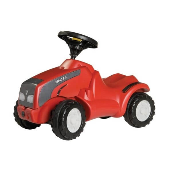 Minitrac Valtra lábbal hajtható játék traktor, Rolly Toys