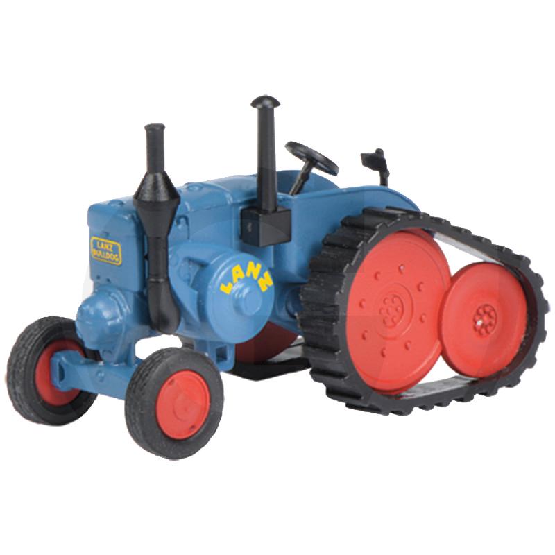 Schuco Lanz Bulldog hernyótalpas traktor makett