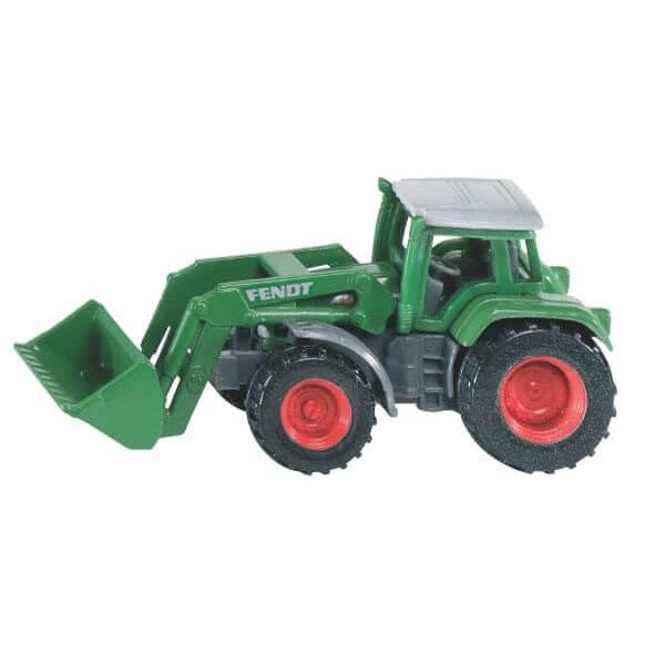 Fendt játék traktor homlokrakodóval, Siku