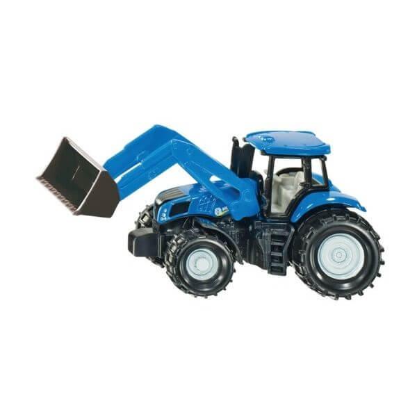 New Holland Játék traktor homlokrakodóval, Siku